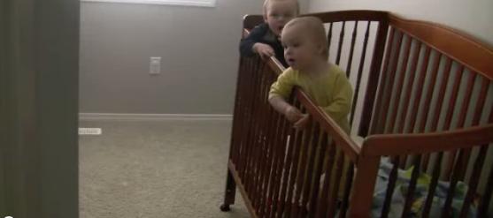 Peculiar Baby Breaks Free