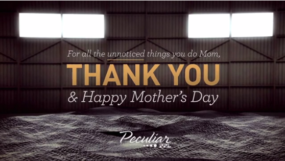 Peculiar PPL Love their Moms!
