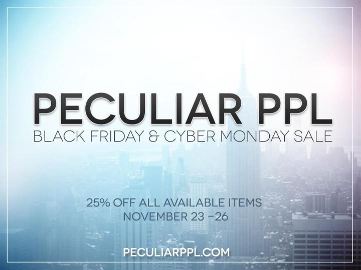 Peculiar Sale this Weekend!