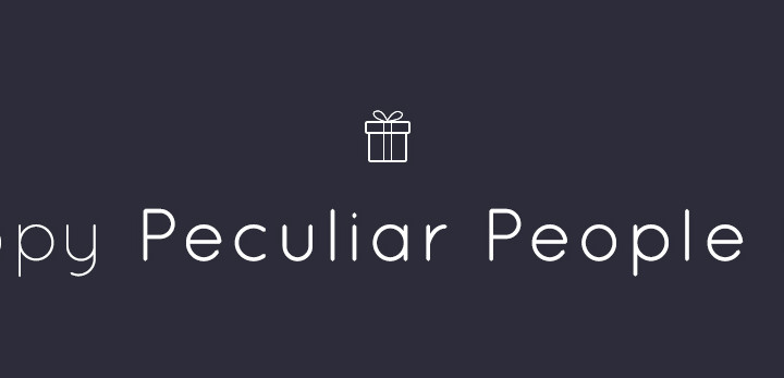 Happy Peculiar People Day!