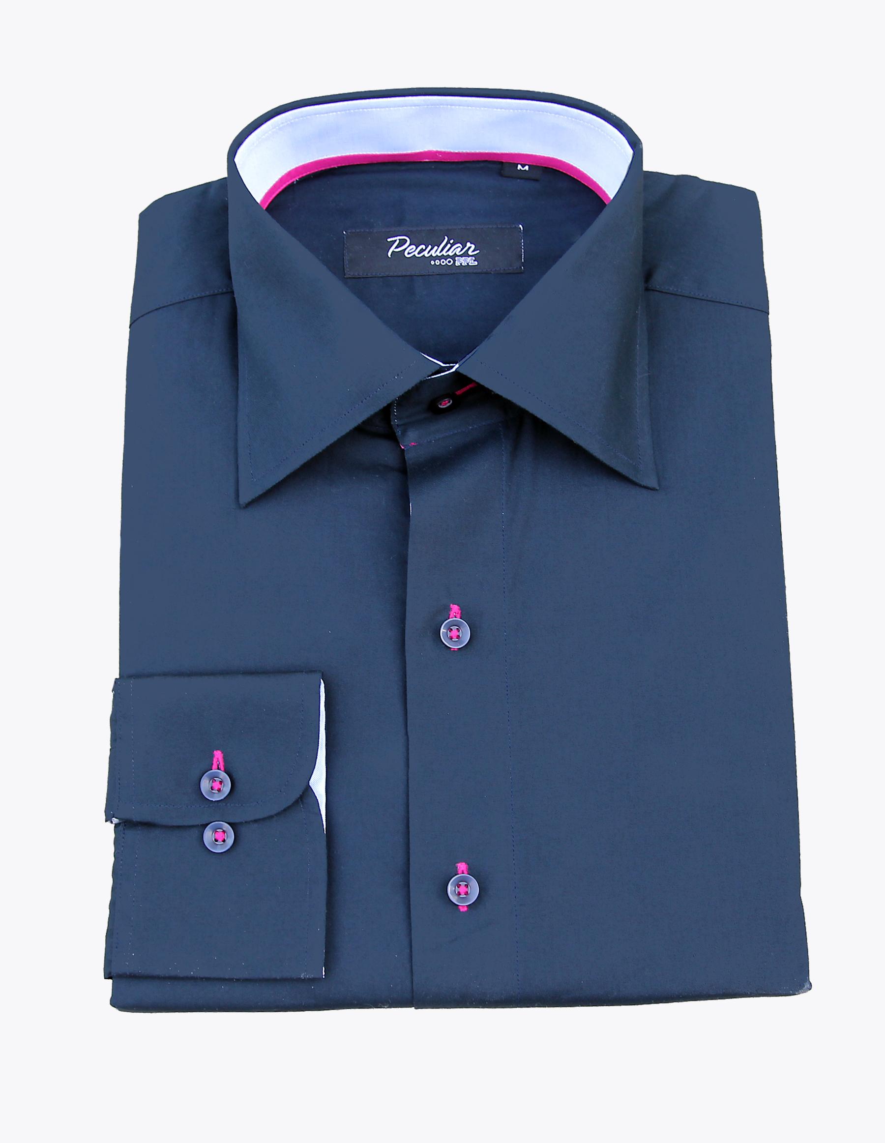 Peculiar ppl make a statement blue dress shirts for Make a dress shirt